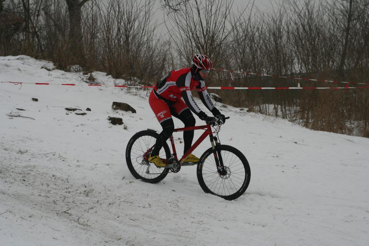 Silvestrovský cyklokros Terezín 2010
