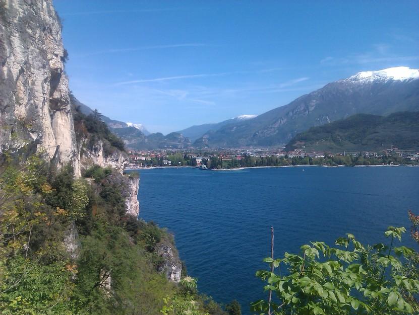 Pohled z Via Ponale