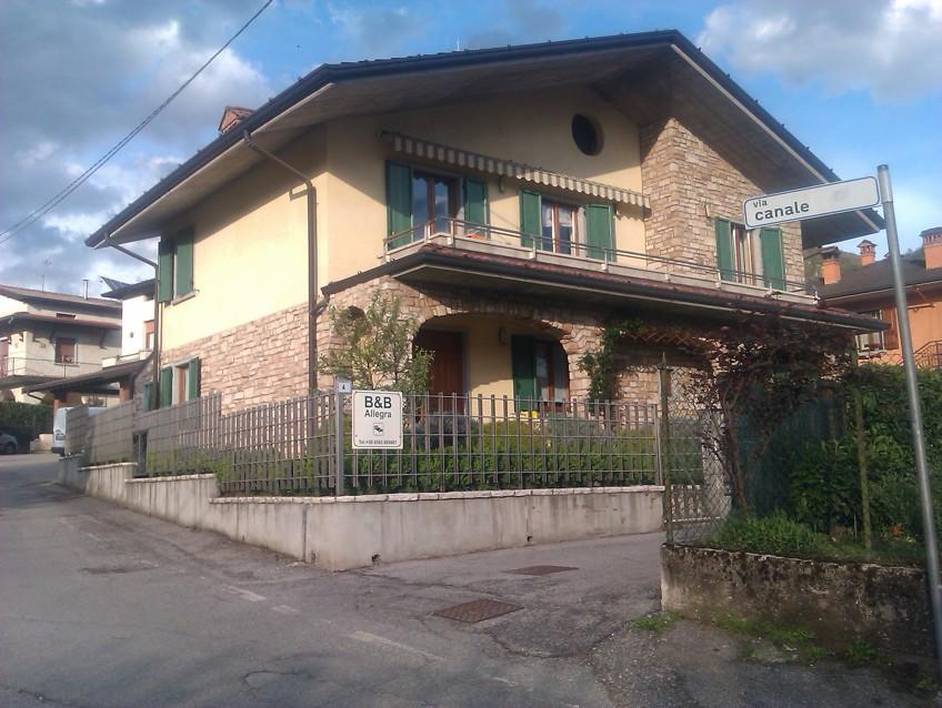 naše bydlení v Sabbio Chiese