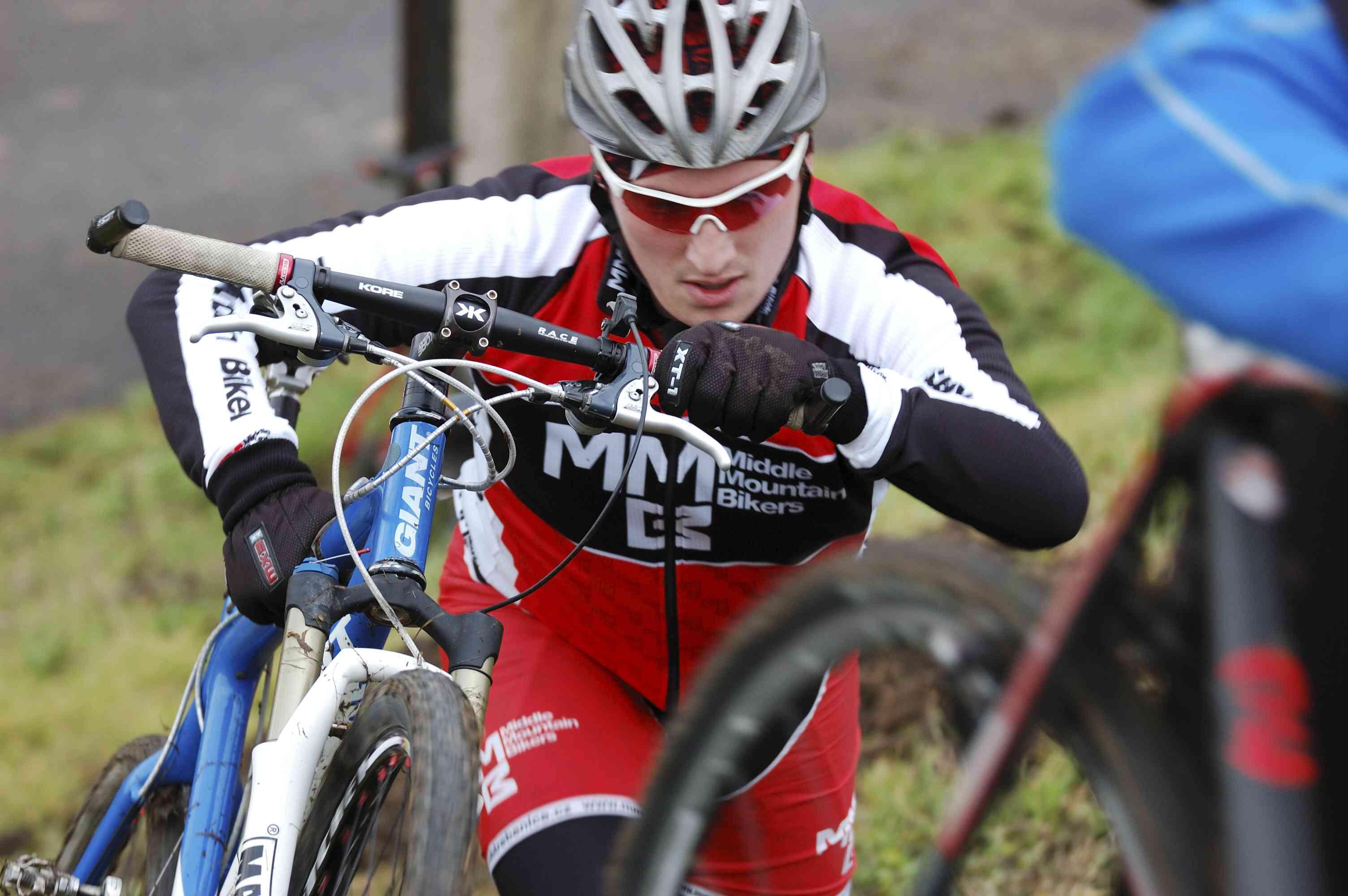 Silvestrovský cyklokros Terezín 2011